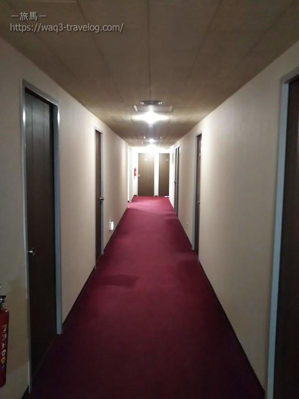 リバーサイドホテル松栄の廊下