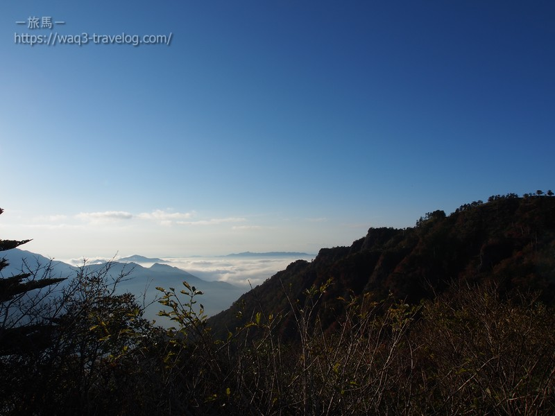 UFOラインから雲海を眺める