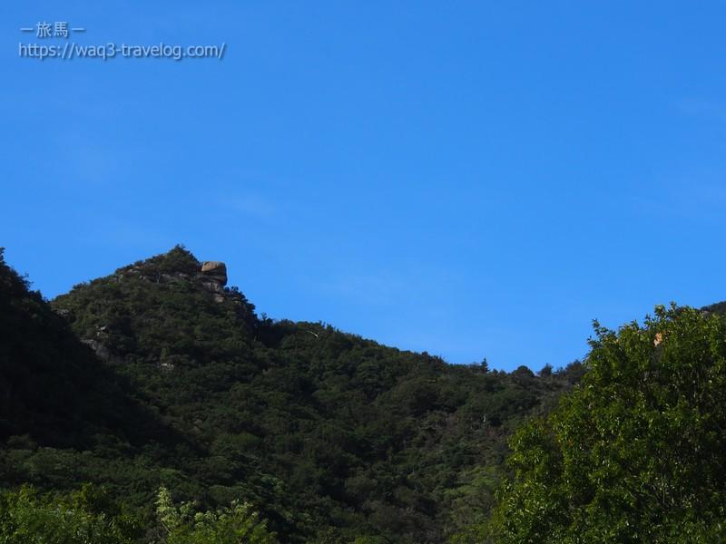 オートビレッジYOSHIDAからの眺め