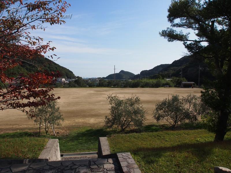 オートビレッジYOSHIDAの多目的広場