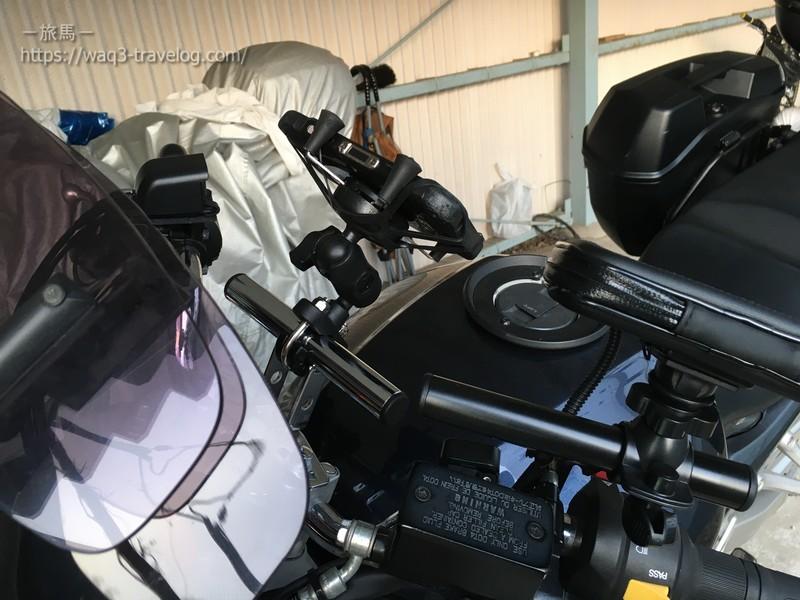 ラムマウント Xグリップ に京セラ トルク G03を装着