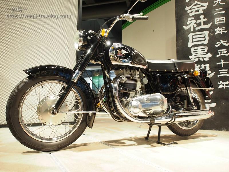 カワサキ500メグロK2