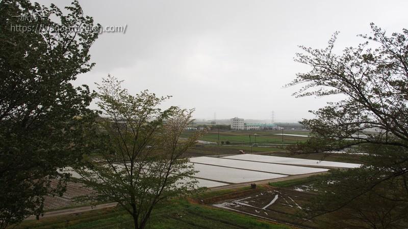 湖東三山PAからの眺め