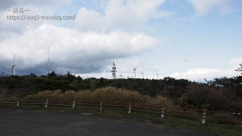 青山高原の風車群