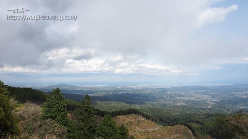 青山高原からの眺め