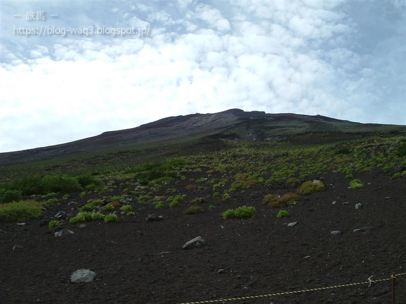 富士山須走口五合目駐車場より
