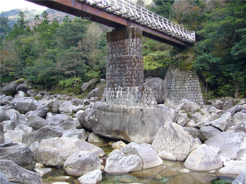 固定されていない橋脚