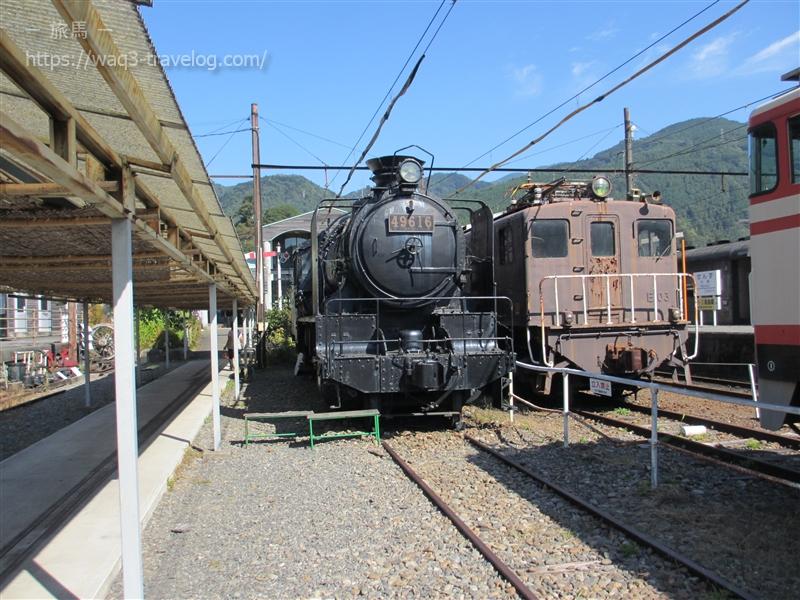 大井川鐡道 千頭駅 9600型蒸気機関車