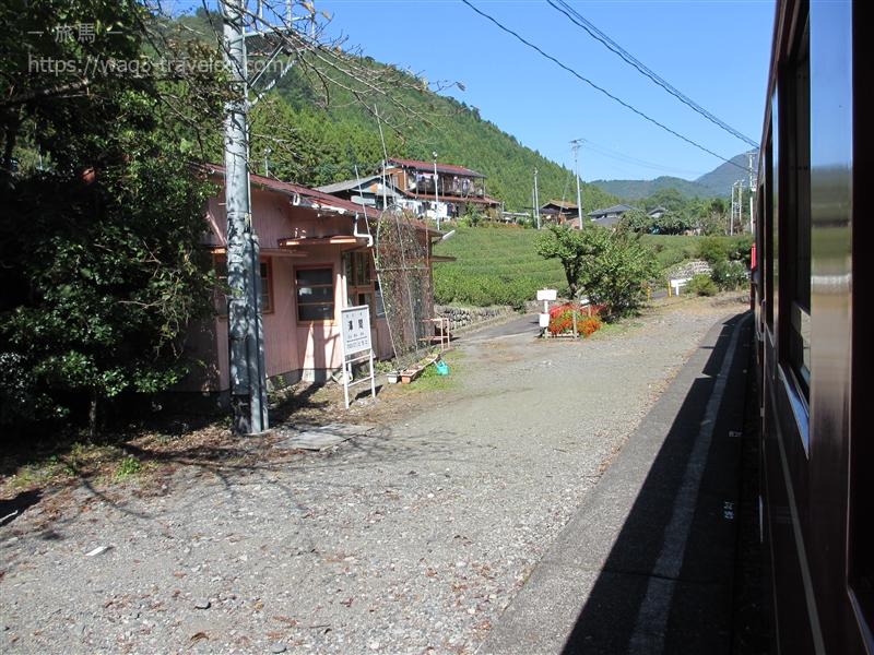大井川鐡道 井川線 沢間駅