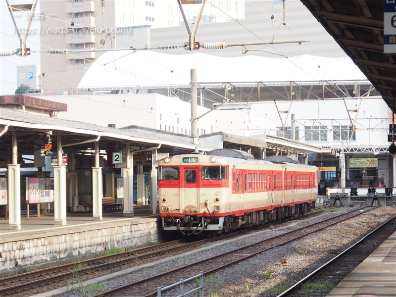 長崎駅にて