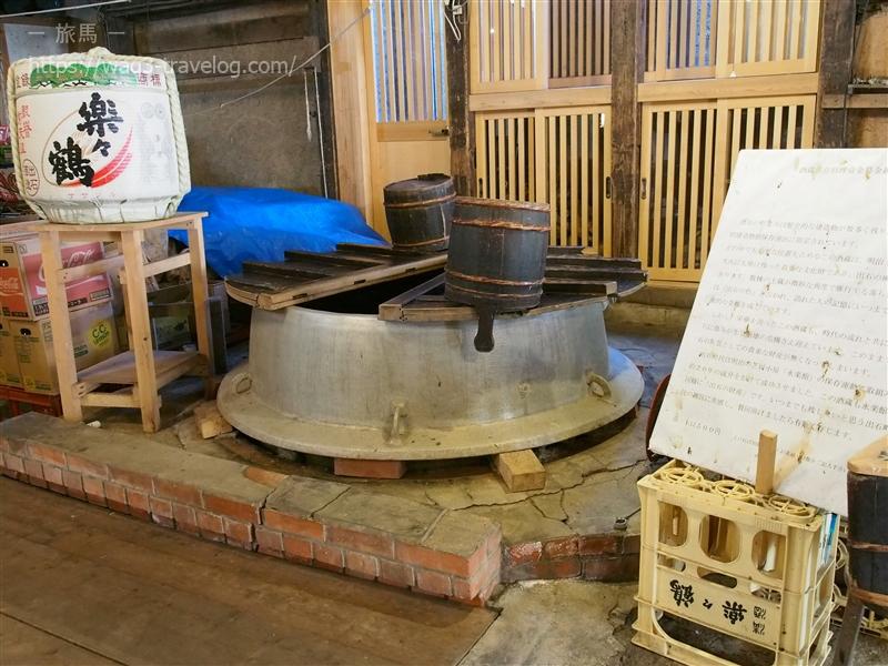 出石のお酒「楽々鶴」の蔵