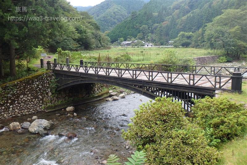 日本最古の鋳鉄橋「神子畑鋳鉄橋」