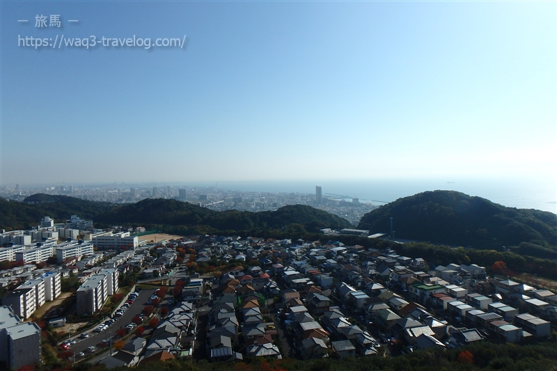 高倉山からの眺め